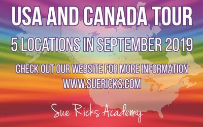 Sue Ricks USA & Canada Tour 2019